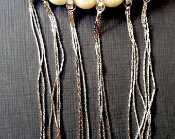 SUMMER17 MOTIF PENDANT Perles Et Strass