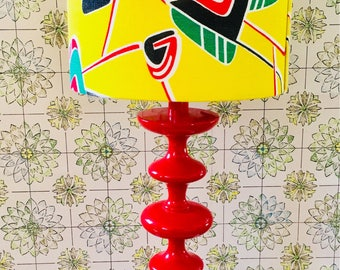 70's lamp and shade