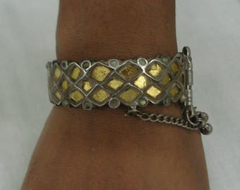 vintage bangle antique bangle tribal old silver bangle bracelet traditional