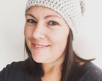 READY TO SHIP | Ladies Slouch Beanie