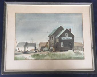 James Drake Iams Original Watercolor