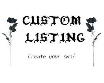 CUSTOM BRA listing, ANY design you like!
