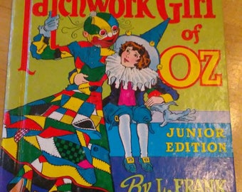 1939 The Patchwork Girl of Oz book