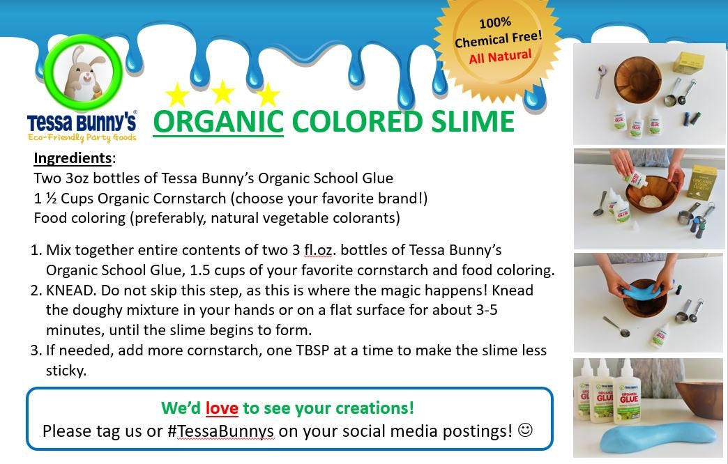 Wholesale -- Organic School Glue (case of 20), Non-Toxic, Vegan ...