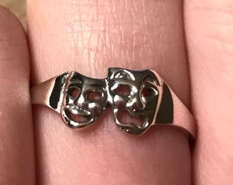 Theater Masks Ring
