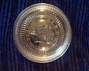 Liberty coin dish