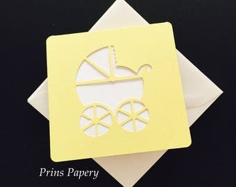 Baby Buggy Mini Note Cards with Envelopes 6
