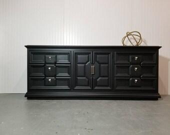 Black Thomasville Dresser.