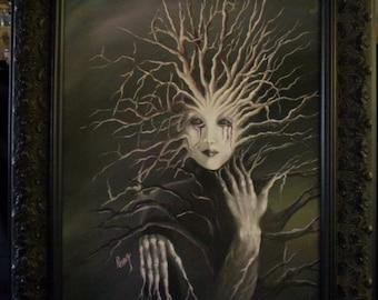Woodland spirit ( painting )