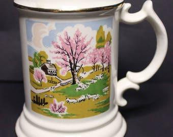 Collector mug. Japanese art