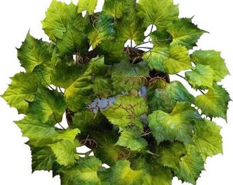 "24"" Grape Leaf Wreath"