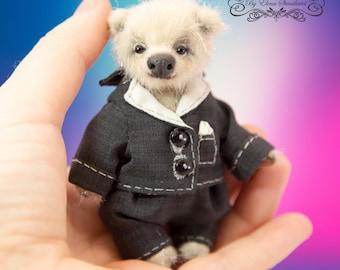 OOAK teddy bear Stiven teddy bear by Elena Stanilevici