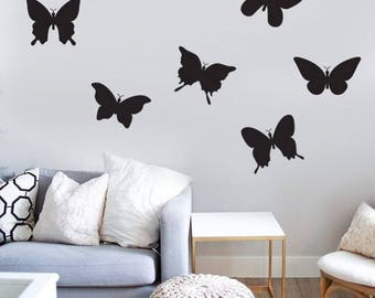 Butterfly Wall Decal Etsy - Butterfly vinyl decals