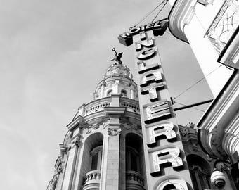 Photograph - Hotel Inglaterra, Havana Cuba
