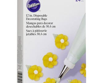 "12"" Disposable Decorating Bag - Wilton - 24 Count"