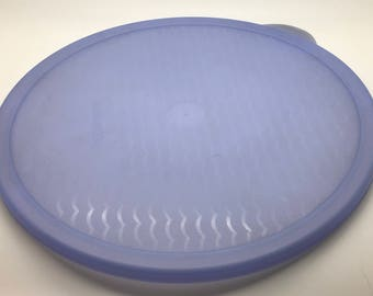 Tupperware Fridgesmart Round Seal Lettuce Keeper Replacement Lid Seal # 3997 Blue Or Green You Choose Your Pick