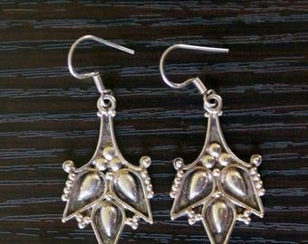 ON SALE Brilliant SILVER Earrings