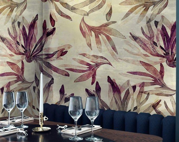 Vintage Tropical Forest Wallpaper