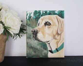 CUSTOM dog painting, custom pet painting, pet painting custom, dog painting custom