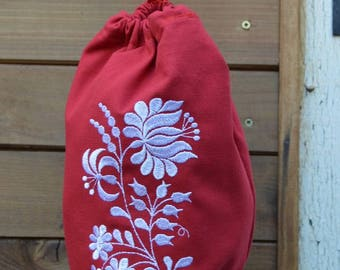 handbag red bags with flowers