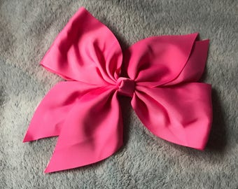 Large Flower Knot Hair Bow