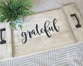 Grateful– Mini Tray...