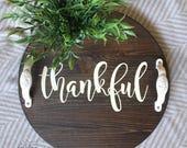 Thankful - mini round tra...