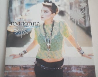"Madonna Like A Virgin 12"" Maxi Single Original Record from Canada Mint 202390-0 A"