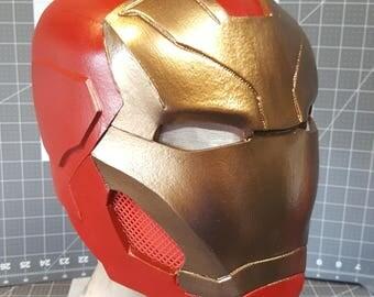 IronMan Mark 47 DIY foam helmet TEMP[LATES
