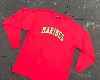 Marines long sleeve T-shirt