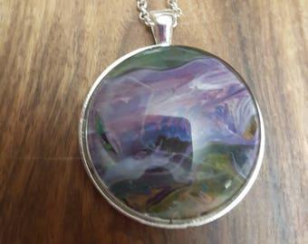 Large Acrylic Pendant