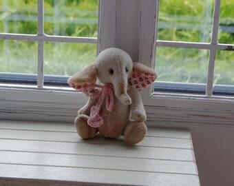 Handmade Elephant 7 cm for Pullip Blythe Momoko Barbie BJD Lati