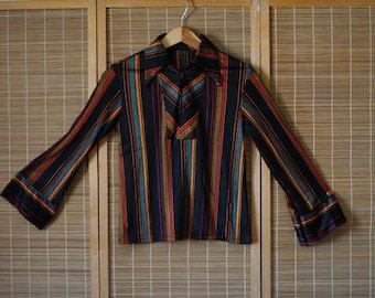 Vintage Groovy Silky Top