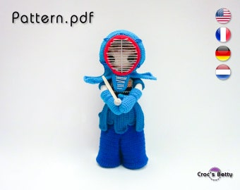 Pattern - Kenzo & his Kendo Outfit