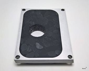 Tone arm Panel made of mineral casting for Technics SP-10 / sl-1000 mk II / III