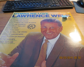 Sealed Lawrence Welk Hyms We Love 1982 R-8042