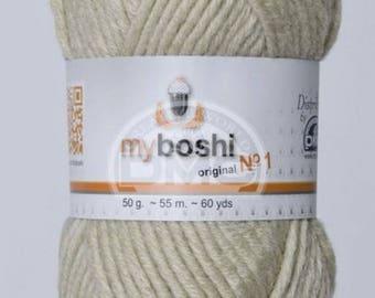 My Boshi yarn beige 171