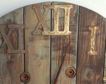 6 inch metal numerals