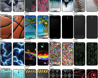 Choose Any 2 Designs - Vinyl Skins / Decals / Stickers for HTC Desire 610 Android Smartphone