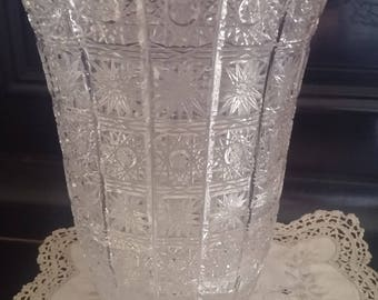 1970/furnishing Crystal vase