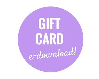 Margie and Dot Gift Card