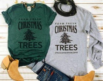 Farm Fresh Trees   Holiday Tees