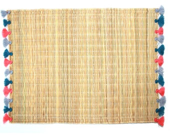 LOLA placemats with tassels - set of 2 NANTUCKET