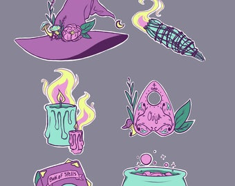 Witchy Sticker Pack