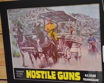 Hostile Guns Movie Poster