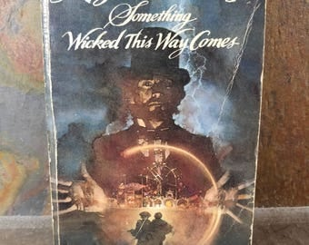 Something Wicked This Way Comes Ray Bradbury Paperback 1983