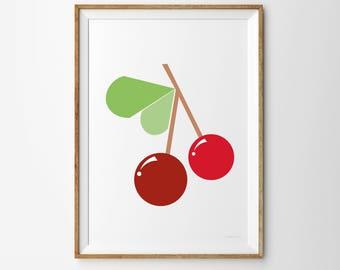 Cherry Children's Print