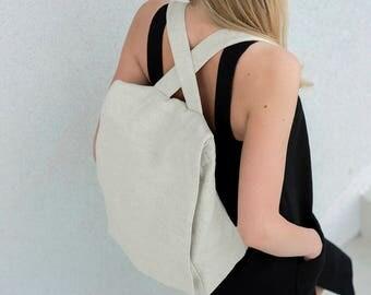 Linen Backpack Motumo – 17B2