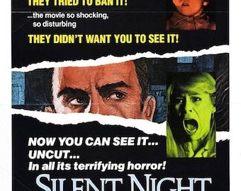 Summer Sale Silent Night, Deadly Night Movie POSTER (1984) Thriller/Horror