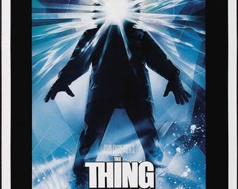 Back to School Sale: THE THING Movie Poster Horror John Carpenter (1982)